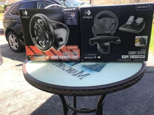 new speed force steering wheel and accessories