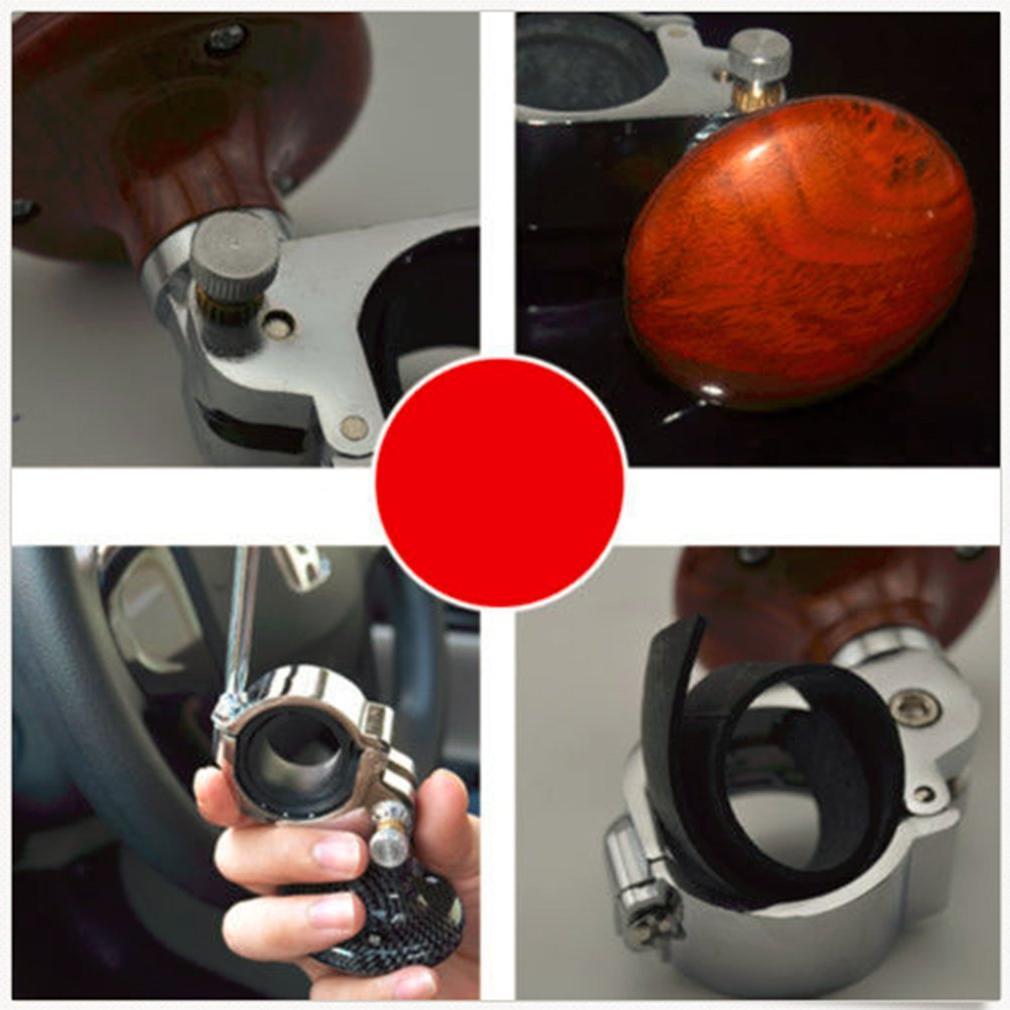 Universal <font><b>Steering</b></font> Knob Booster Ball Metal bearing <font><b>steering</b></font> <font><b>wheel</b></font> auxiliary