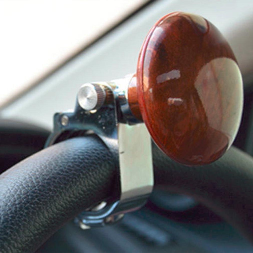 Universal Knob Ball Metal truck <font><b>steering</b></font> <font><b>wheel</b></font> auxiliary