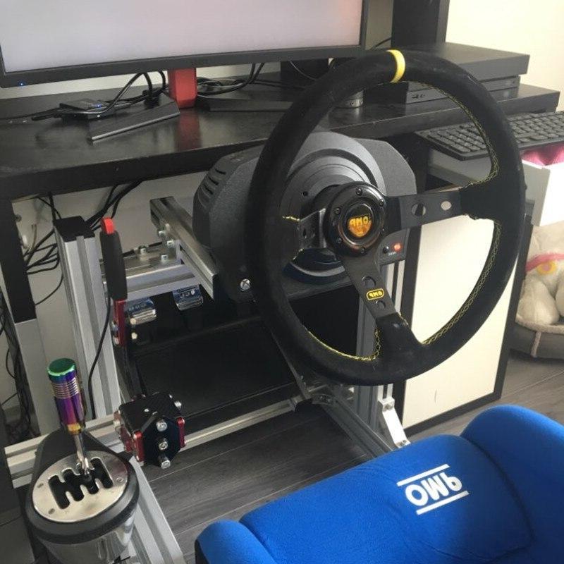 OMP car Sport <font><b>wheel</b></font> quality Aluminum+suede