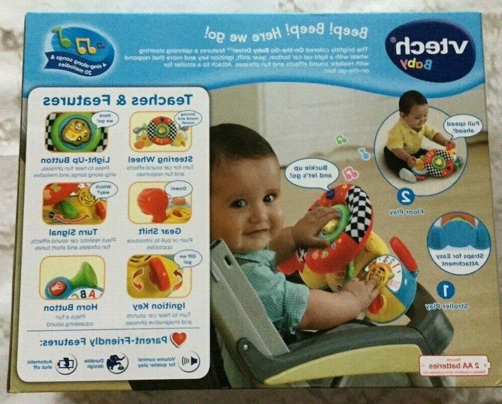 VTech On-The-Go Baby Driver, Realistic And Fun Responses NEW