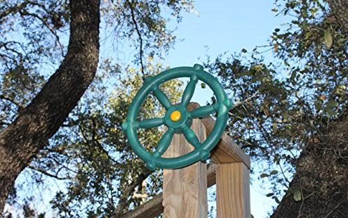 Jungle Pirate Ships Wheel - Green