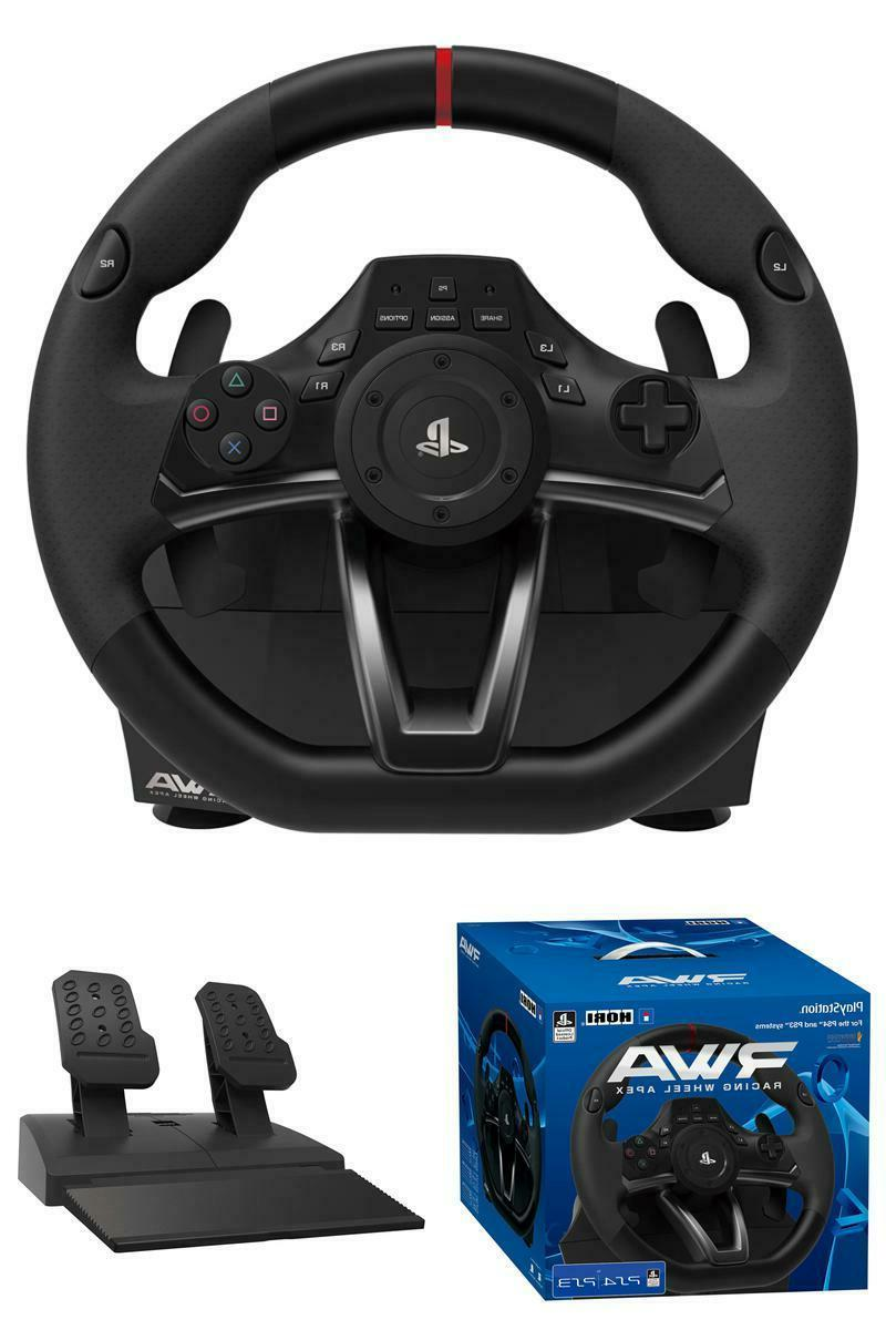PlayStation 4/3 & PC Steering Wheel Racing Gaming Simulator