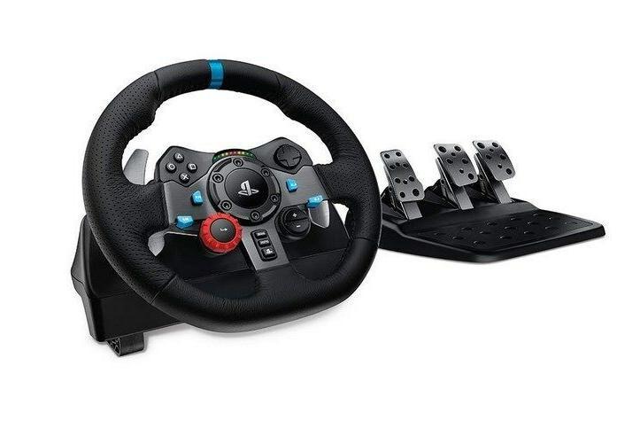Wheel Pedal Racing Gaming PC