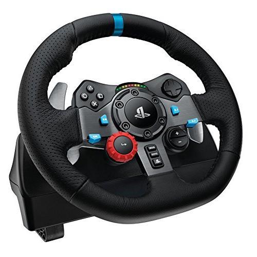 Playstation Gran Turismo with Logitech Dual-Motor G29 Wheel Bundle