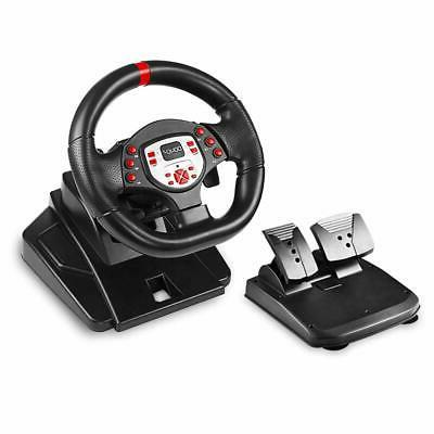 pro sport steering racing wheel for ps4