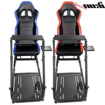PVC Racing Simulator Steering Wheel Stand Logitech G29 Thrus