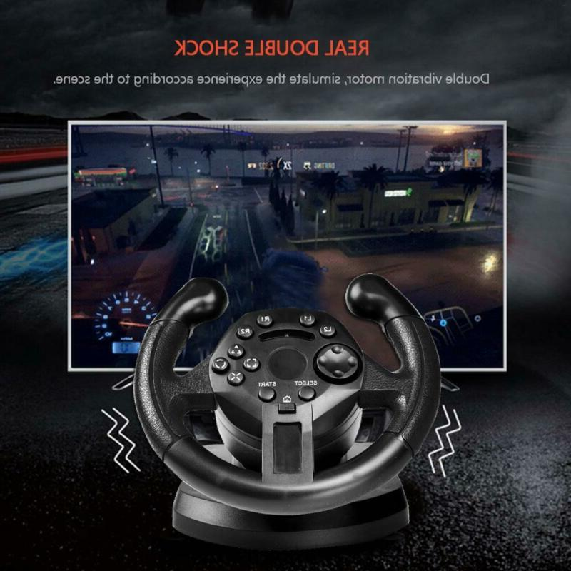 Racing Driving Game Steering Brake Pedal F/ Xbox