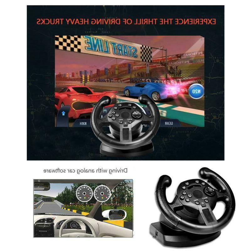 Racing Controller Steering Wheel Brake F/ PS3 Xbox