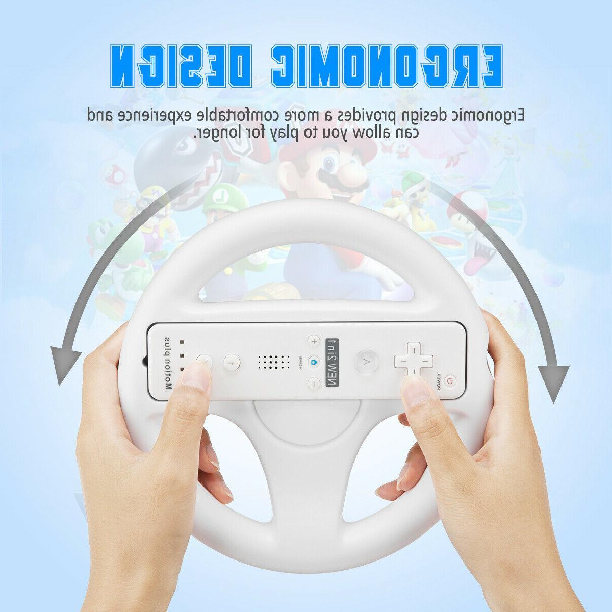 2Pc Wheel Wii Mario