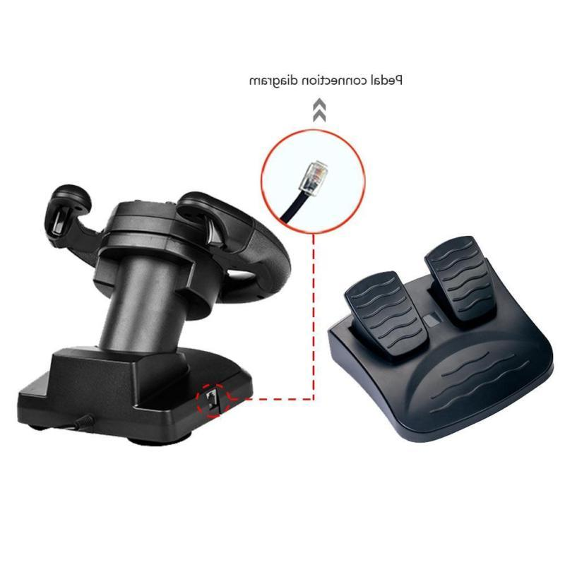 With Racing PC Gift PS3 Pedal Brake Steering PS4