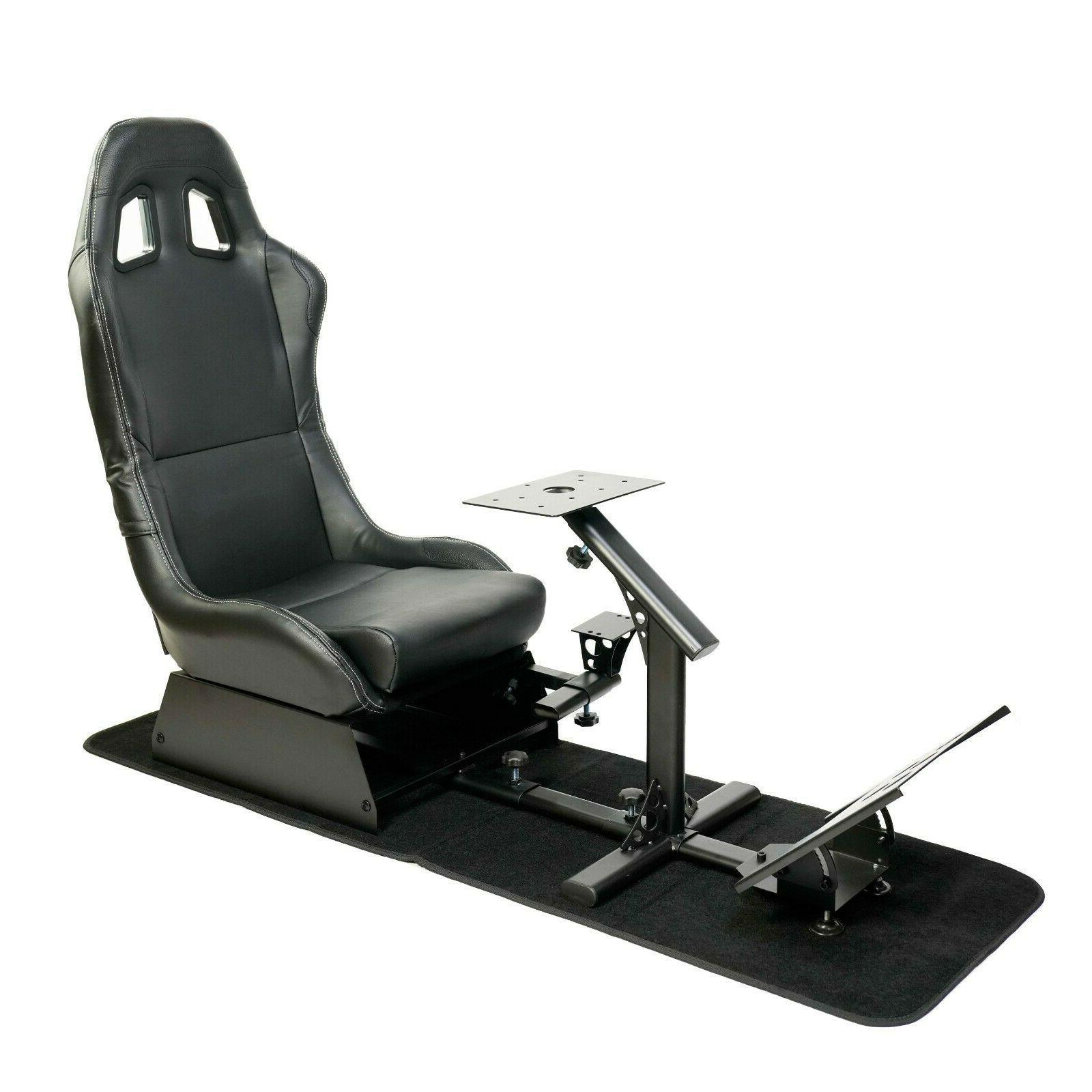 racing seat gaming chair simulator cockpit steering