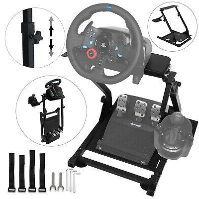 racing simulator steering wheel stand logitech g29
