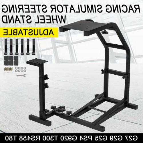 racing simulator steering wheel stand for logitech
