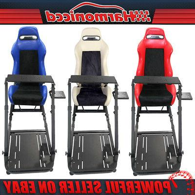 Racing Simulator Stand Logitech G29 Cockpit Seat Gaming