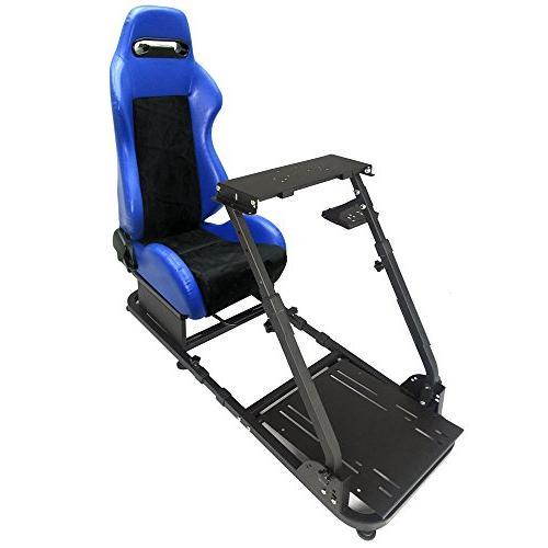 racing simulator steering wheel stand