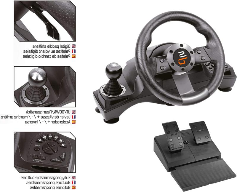 Racing Steering Pedal PS4 S PS3
