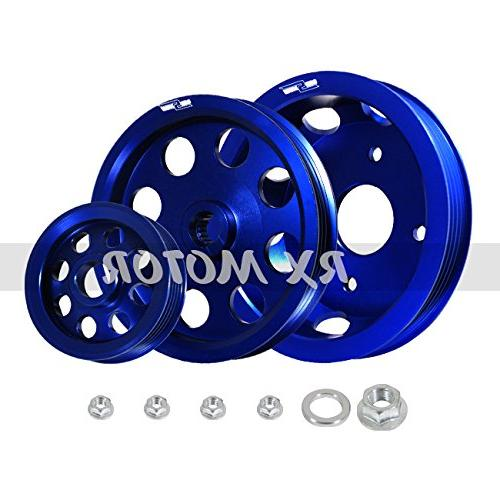 Rxmotor Pulley Steering Alternator Water for S15
