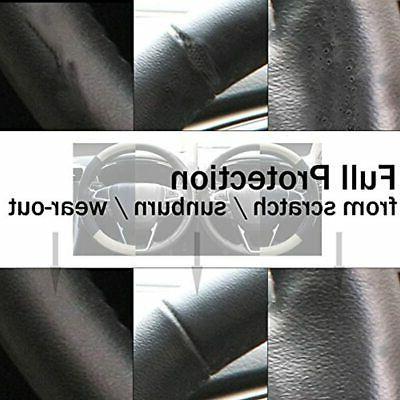 SEG Black Beige Car Steering 15