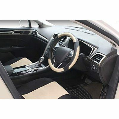 SEG Black Beige Car Steering Wheel 15