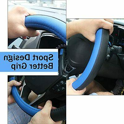 SEG Direct Black And Blue Auto Car Wheel 15