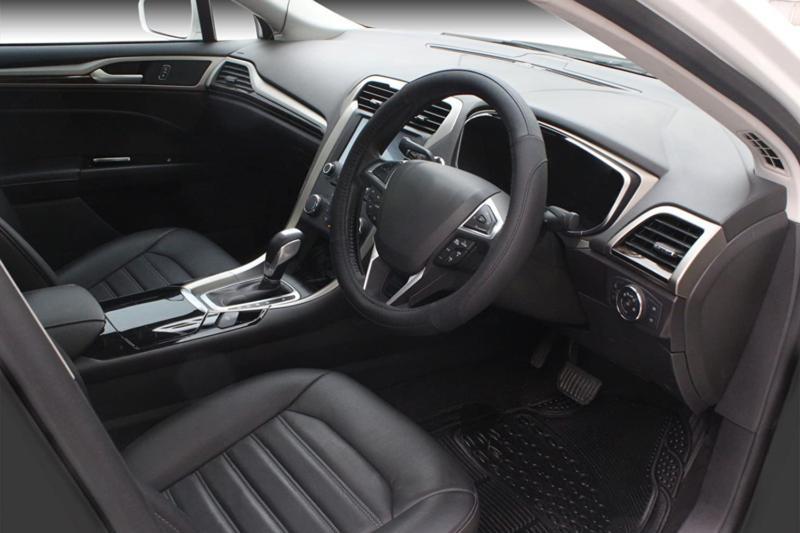 SEG Microfiber Leather Car Wheel Cover 15 i