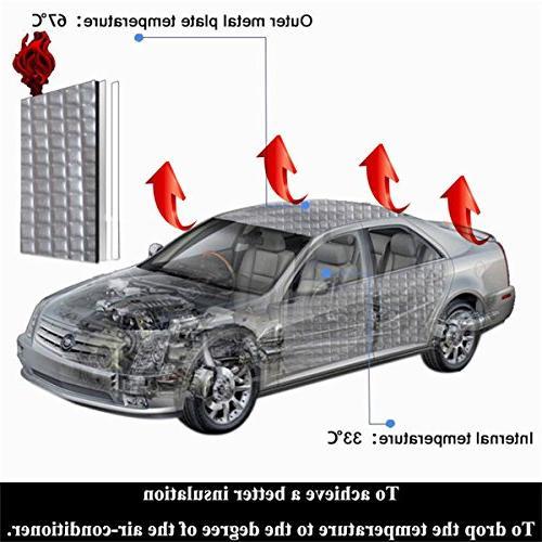 """shinehome Heat Deadener Deadening Dampening Mat Mat 40"""""""