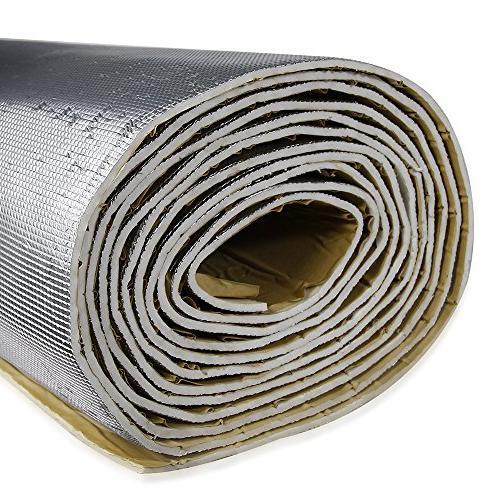 shinehome Shield Sound Deadener Deadening Heat Mat Insulation and Dampening Mat Mat x 6mm/236mil