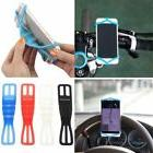 Silicone Bike Car Steering Wheel Mount Holder Band For iPhon