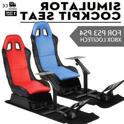 Simulator Cockpit Steering Wheel Stand Gaming Chair For Logitech