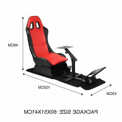Simulator Cockpit Steering Stand Seat Gaming Chair For