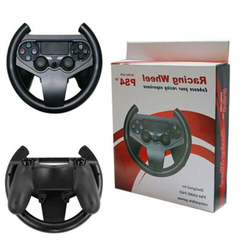 For Sony Playstation 4 PS4 Gaming Steering Racing Wheel Cont