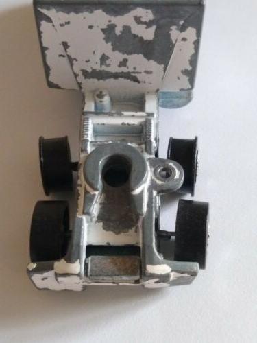 Hot Wheels Steering White 1982