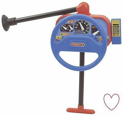steering wheel backseat driver car toy keys