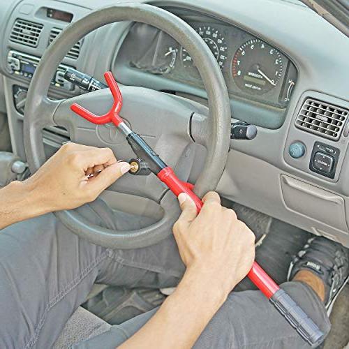 Fairly Odd Steering Wheel Adjustable Theft Security Car Truck