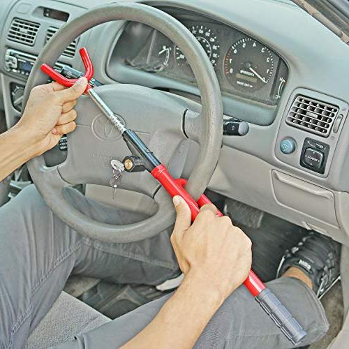 Fairly Treasures FOT-50003 Steering Adjustable Anti Security System for Truck