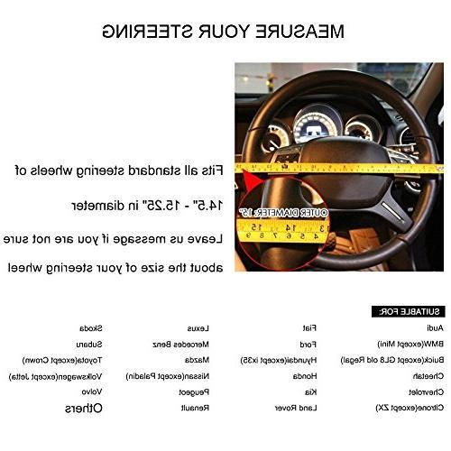 Valleycomfy Steering Wheel Genuine for Truck