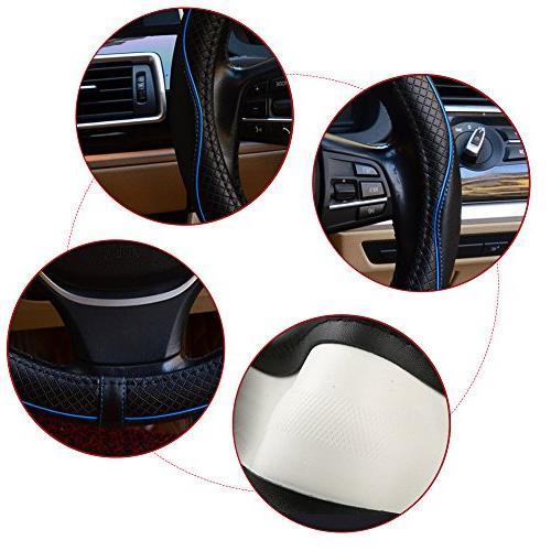 Valleycomfy Wheel Universal 15 Genuine Leather Truck SUV