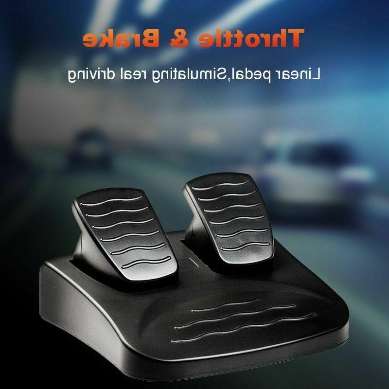 Steering Wheel Joystick Pedals Racing Controller PC/PS3