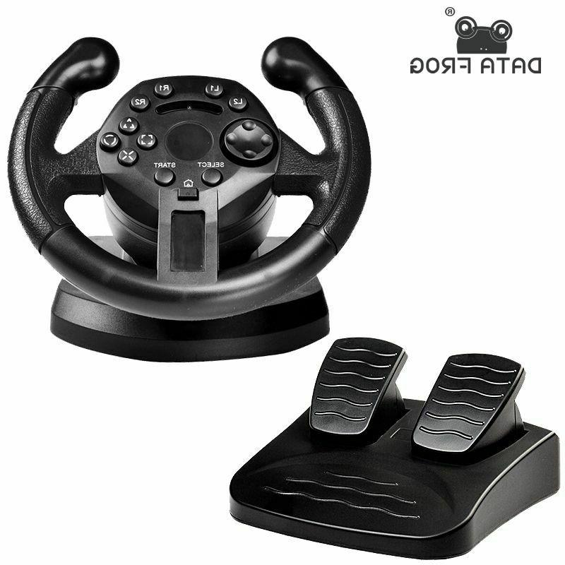 Steering Wheel Pedals Controller PC/PS3