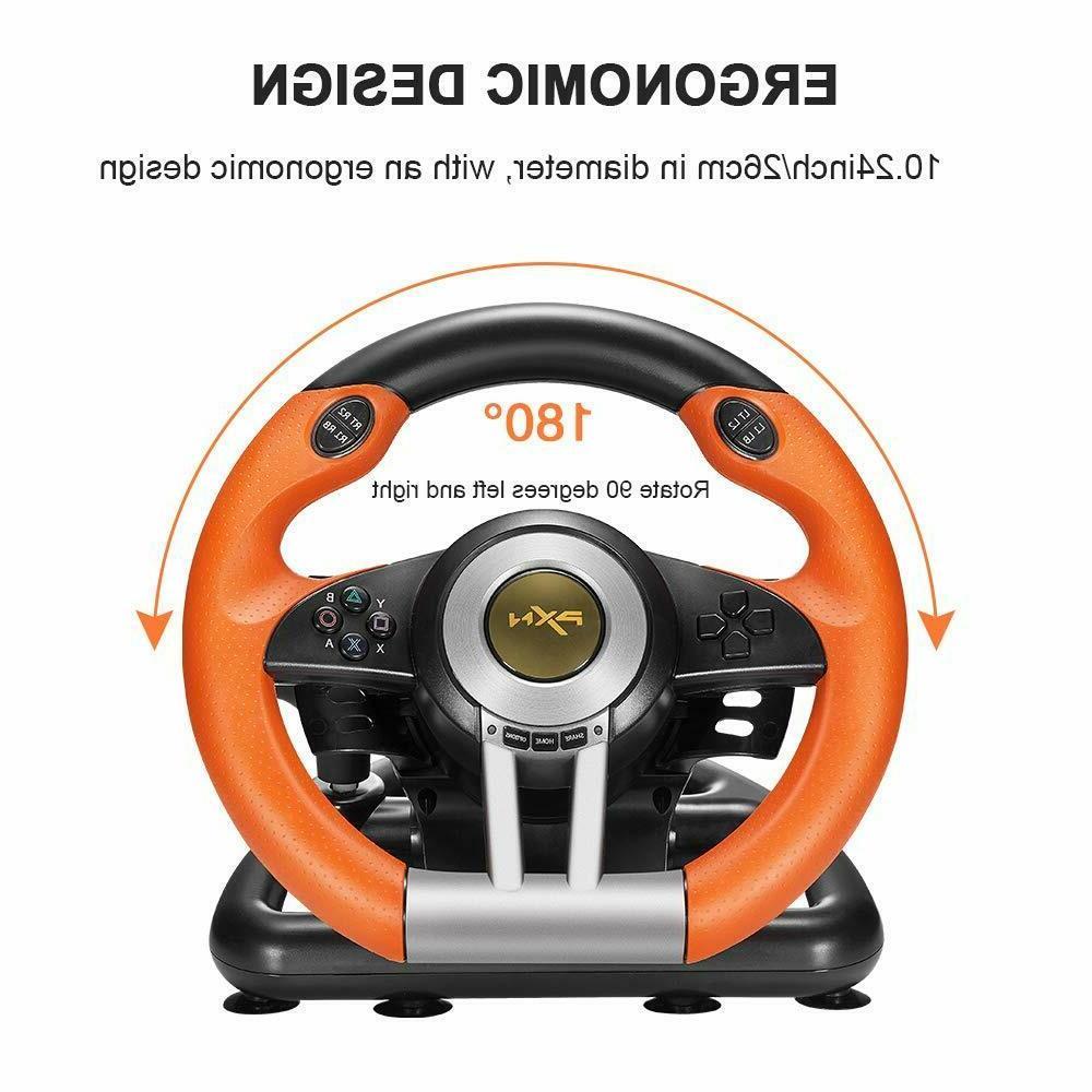 Steering Wheel Racing Gaming Simulator Driving PS3,PS4,PC,XBOX