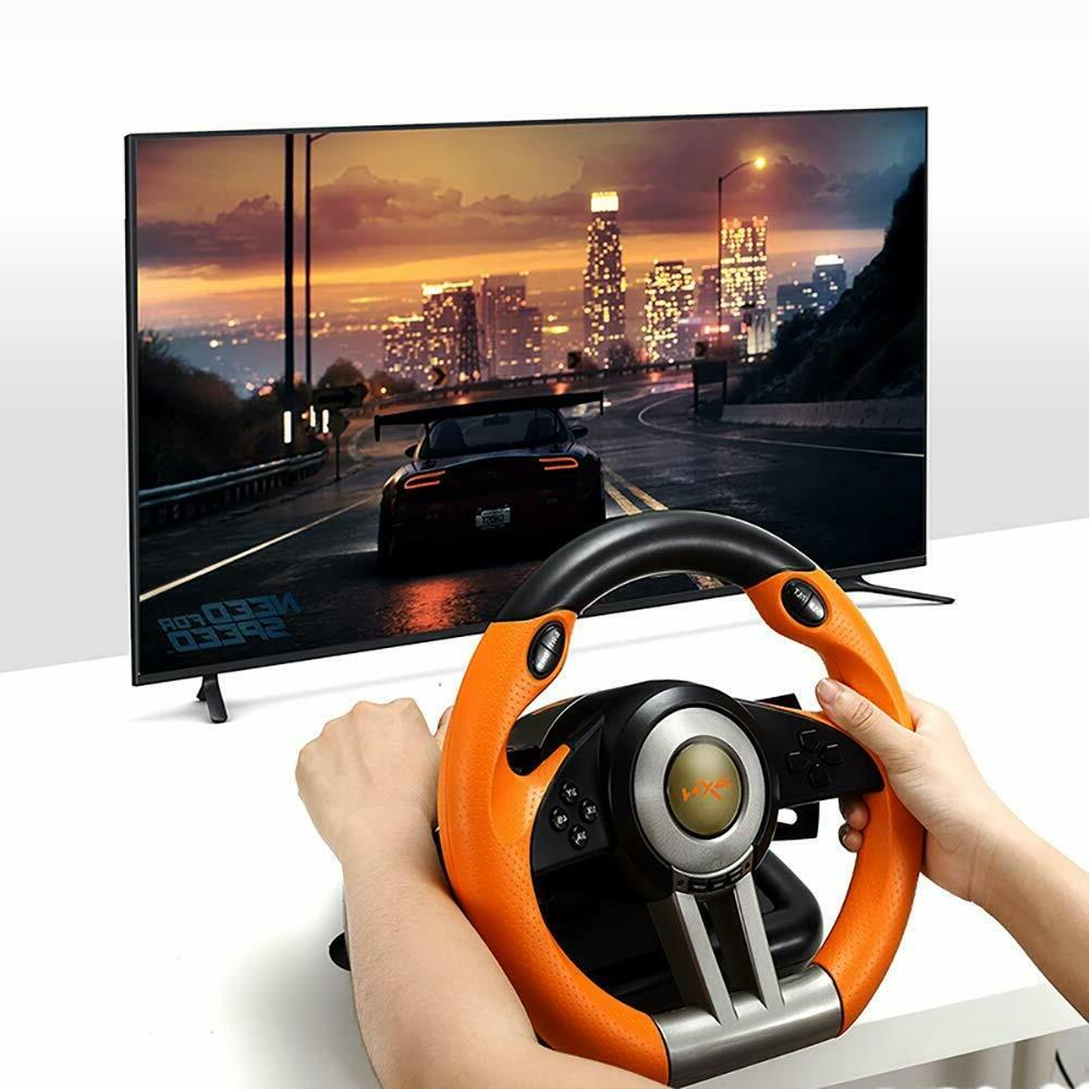Steering Pedal Racing Simulator PS3,PS4,PC,XBOX Switch
