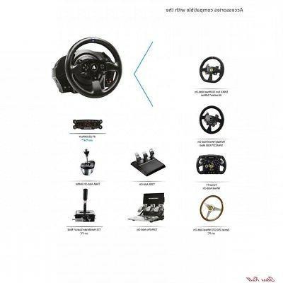 Steering Wheel PS4 PC Gaming Simulator Ferrari