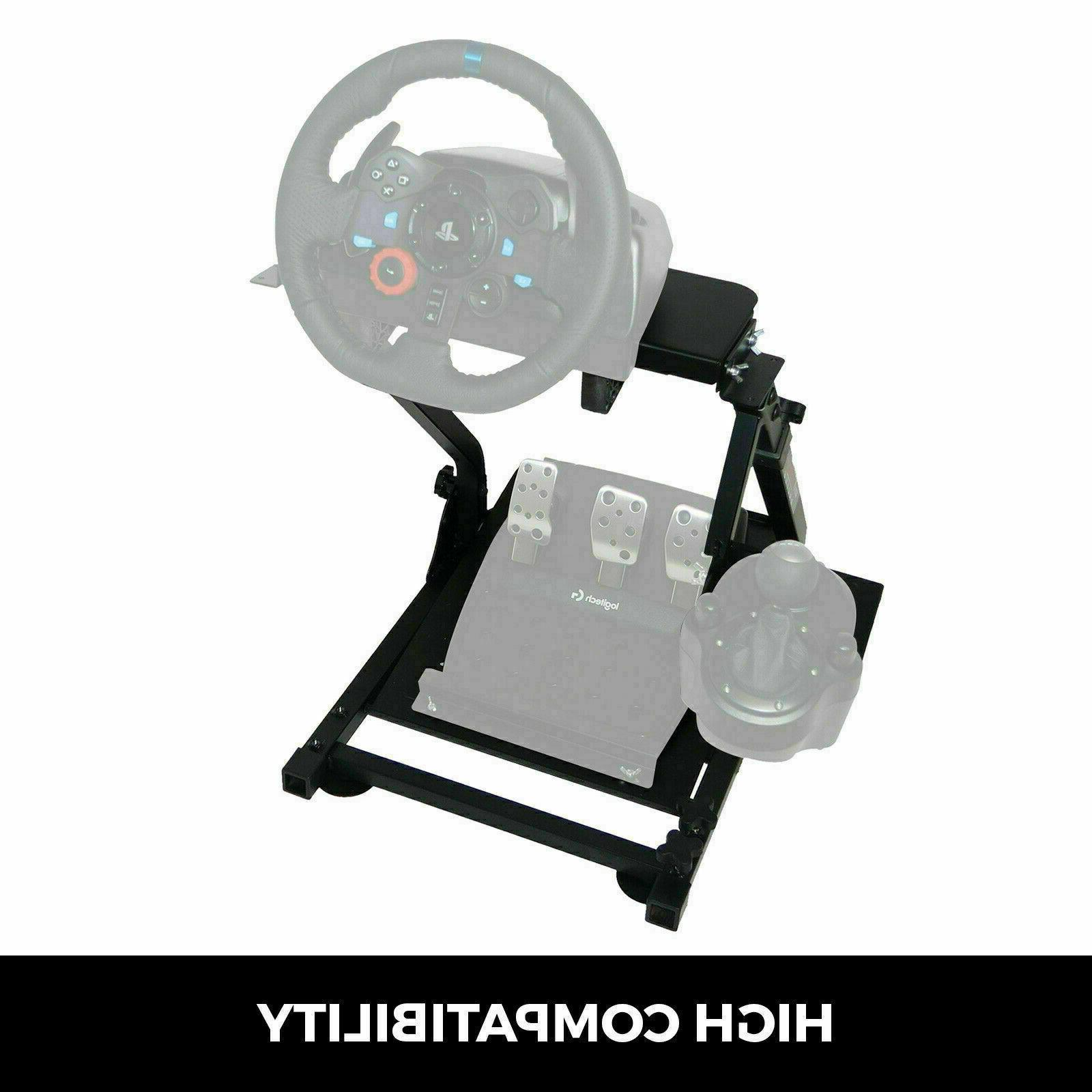 Steering Stand for GT Omega T300RS driving PS4