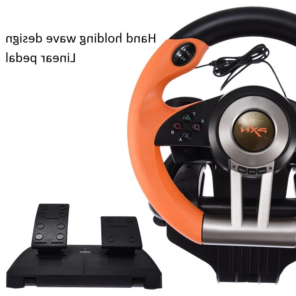 Support <font><b>PC</b></font>/for PS3/PS4/X-ONE <font><b>Game</b></font> USB Wired Connection <font><b>Racing</b></font> Simulation Driving