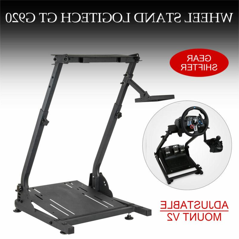 Racing Simulator Steering Stand for Logitech G25, G27, G920 Upgraded