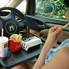 Tray For Car Steering Wheel Writing Desk Notepad Laptop Cup