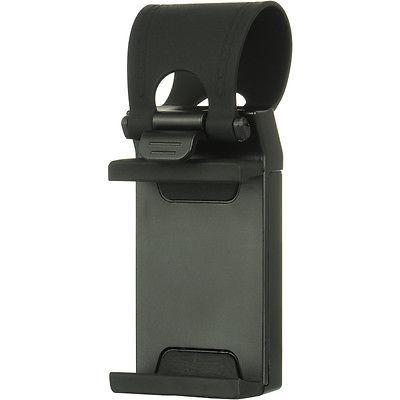 Universal Gray MOUNT HOLSTER CLIP On Wheel Cell Phone Holder