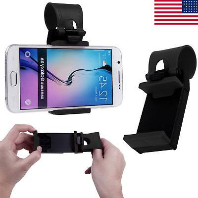 Universal Car Mount Holder Steering Wheel Clip Cradle Stand