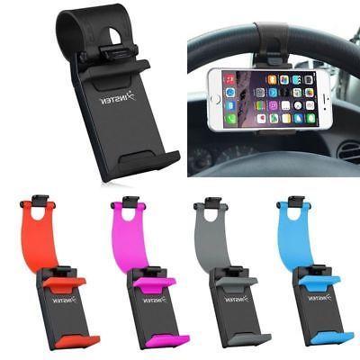 Universal Car Steering Wheel Clip Cradle Stand Mount Holder